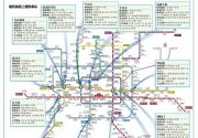 北京地鐵9號線、10號線、6號線、8號線最新線路圖