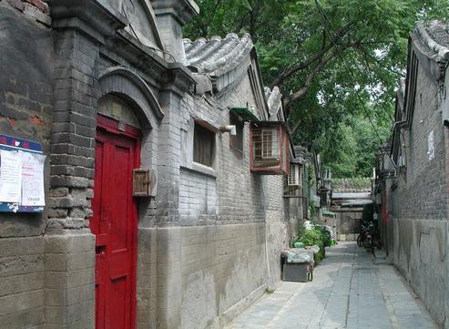 北京十大胡同:烟袋斜街[墙根网]