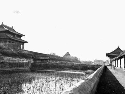 老北京城的宫城城门