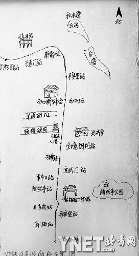 地铁4号线南段老北京的俗世生活
