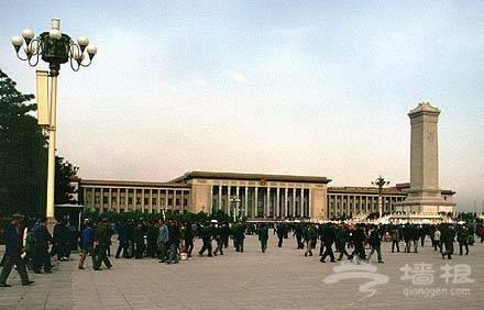 """北京不同时代的几个""""十大建筑"""""""