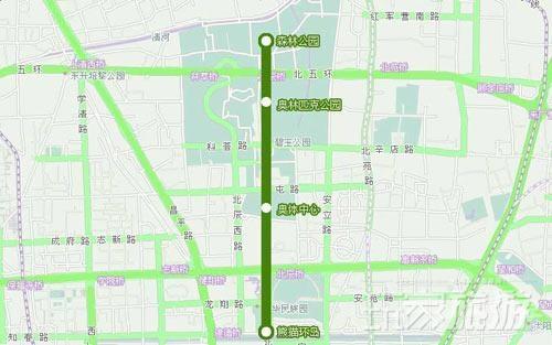 地铁奥运支线沿途景点推荐