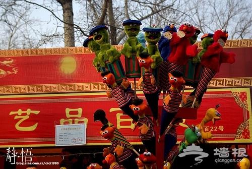 春节记录:庙会里的人山人海[墙根网]