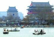北京各大公园游船陆续开航