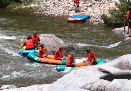 河南最长的漂流 洛河漂流攻略