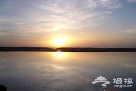 徒步穿越内蒙古库布齐沙漠遇险记
