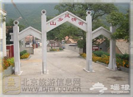 灵山脚下的美丽乡村—洪水口村