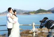 平谷金海湖成为京津冀婚纱摄影定点外景地