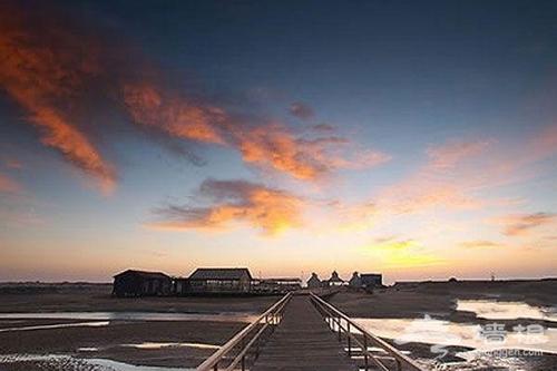 """身边的荷兰风情 """"海上小木屋""""月坨岛"""