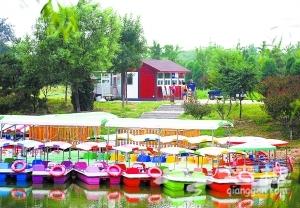 北京奥林匹克森林公园北园新建游船码头[墙根网]