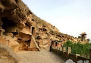 榆林红石峡:万里长城上的千年古刹