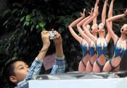 奥林匹克森林公园奥运雕塑展开幕
