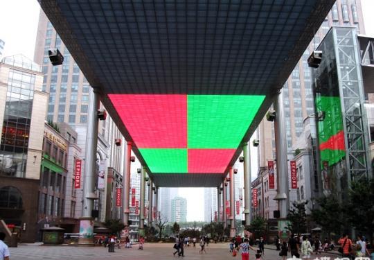 北京世贸天阶 全北京向上看