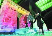 北京密云黑龙潭冰雪奇观艺术节开幕