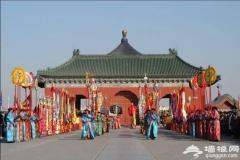 2011年颐和园苏州街春节宫市(俗称宫廷庙会)