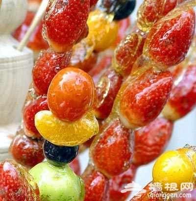 冰糖葫芦 种类繁多
