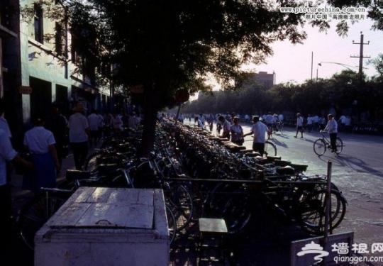 八十年代北京罕见照