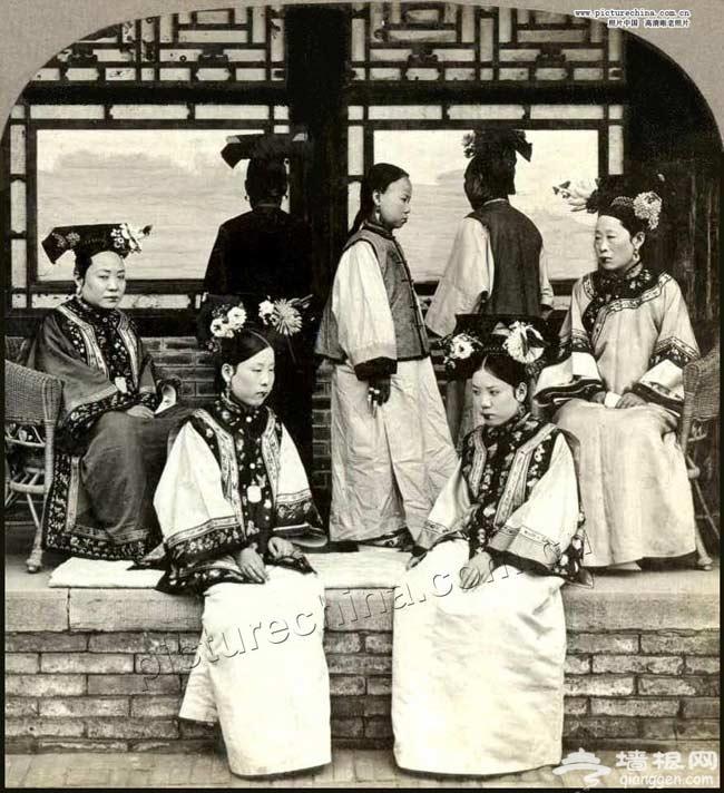高清:罕见的晚清贵族老照片[墙根网]