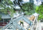 戒台寺重建五百罗汉堂