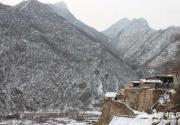 冬游爨底下村 叹雪景下的明清古镇之美