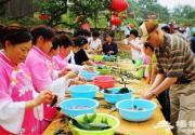 北京圣泉山第四届端午文化节粽叶飘香