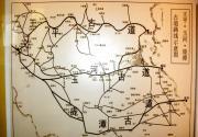 京西古道线路图(王平 玉河 庞谭)