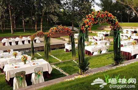 紫玉乡村俱乐部:城市中的庄园婚礼