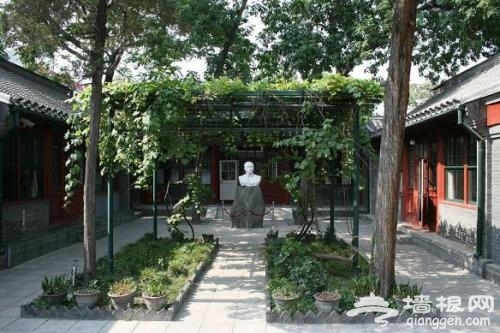 北京名人故居游:后圆恩寺胡同里的茅盾故居