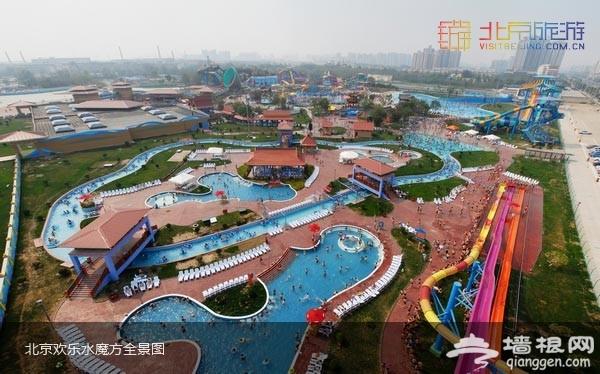 北京欢乐水魔方全景图