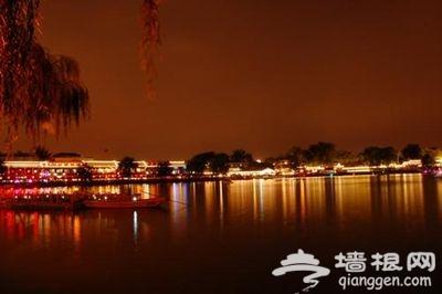 什刹海 跟夜晚的北京城谈谈情说说爱