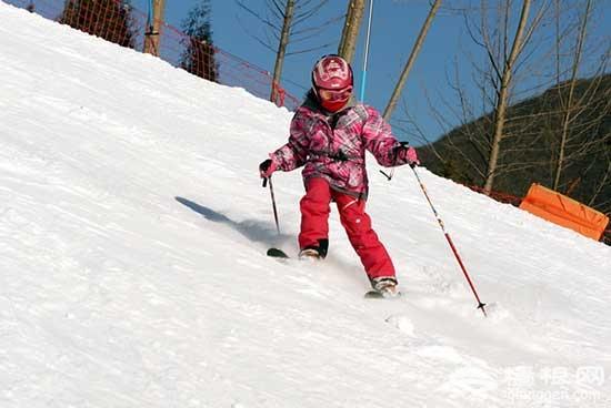 怀北国际滑雪场 速度与激情大考验