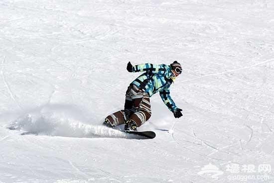 网友游记:云佛山滑雪场 北京滑雪之旅