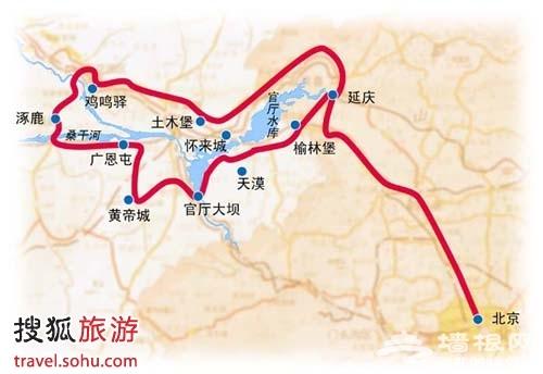 北京西行自驾 大漠古堡话古今