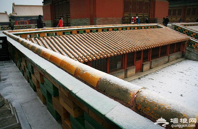 雪中故宫、景山、北海、后海、圆明园(组图)[墙根网]