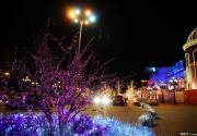 蓝色港湾灯光节