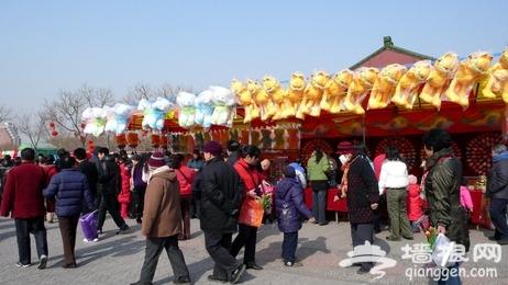 2012北京莲花池庙会 五显财神庙的昔日胜景