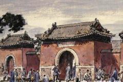 旧时的北京庙会