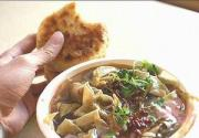 香嫩有咬劲的天津传统小吃-嘎巴菜