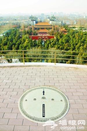 北京中轴线偏移之谜[墙根网]