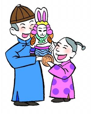老北京月饼首先用来祭兔爷[墙根网]