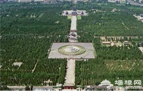 北京中轴线 25公里上的北京建筑精华(图)