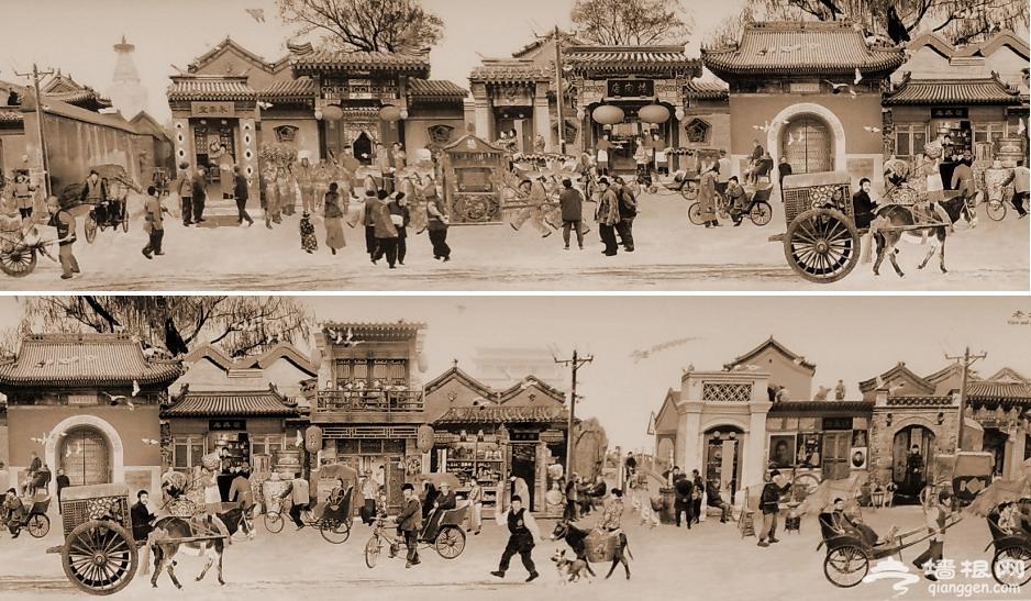 老北京城风云变幻一千年[墙根网]