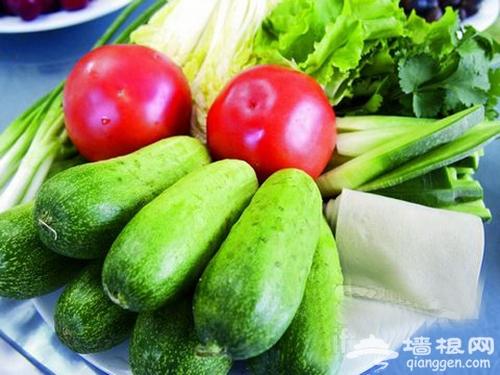 塔洼人家度假村 尝鲜野菜味