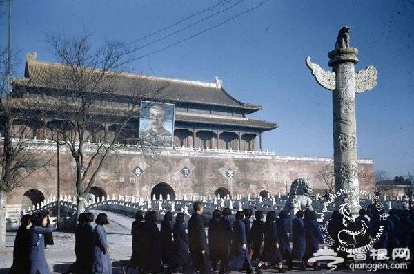 珍贵旧影:1947年古朴和谐的老北京[墙根网]