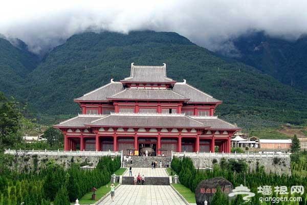 春游小心愿 到北京最灵寺庙祈福纳祥(图)