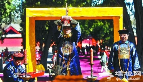 北京先农坛重现皇帝祭先农大典