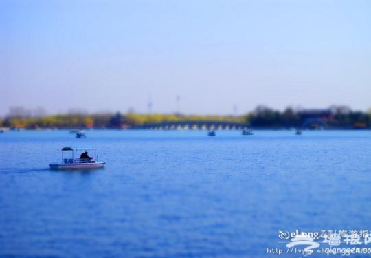 划出来的春色 五一北京五大划船地