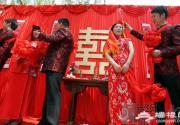 北京西城时尚婚庆文化博览会在北海公园开幕