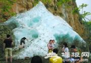 初夏时节到滴水壶和玉渡山赏巨冰