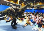 北京自然博物馆迎来洋恐龙